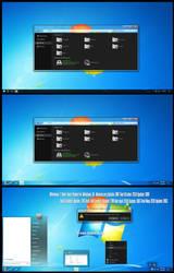 Win7 Dark Aero Theme Win10 May 2019 Update 1903 by Cleodesktop
