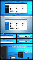Win10 FT Black and Blue Theme Win10 1903
