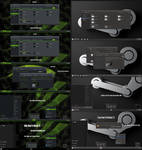 Steam and nVidia Theme For Win10 1909