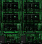 Matrix Grand Green Theme Win10 1909