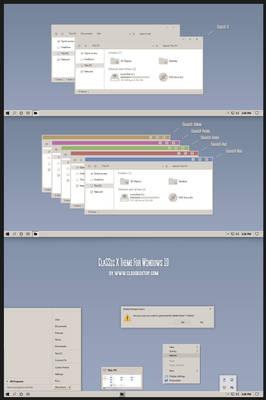 Classic X Theme Windows10 1909