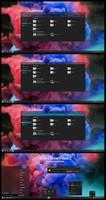 After Dark CC Aero Theme For Windows 10