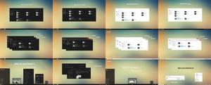 Minimal Dark And White Theme Win10 2004