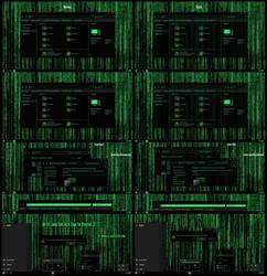 Matrix Grand Green Theme For Win10
