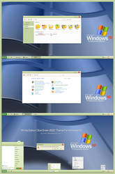 WinXp Edition Olive Green 2021 Theme Win10
