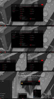 Pure Black Glass Red V2 Theme Win10 2004 And 20H2