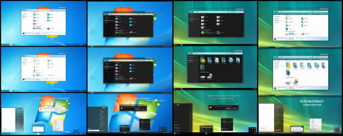 Vista And Win7, Dark And Light ForWin10 2004, 20H2