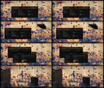 After Dark Glass Cyan And GreenTheme Win10 2004 An by Cleodesktop