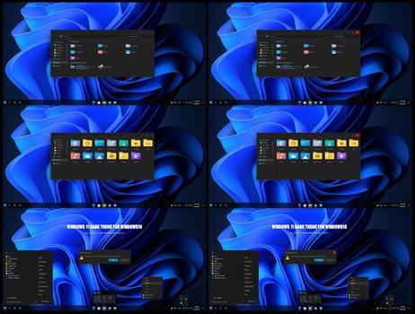 Windows11 Dark Theme For Win10