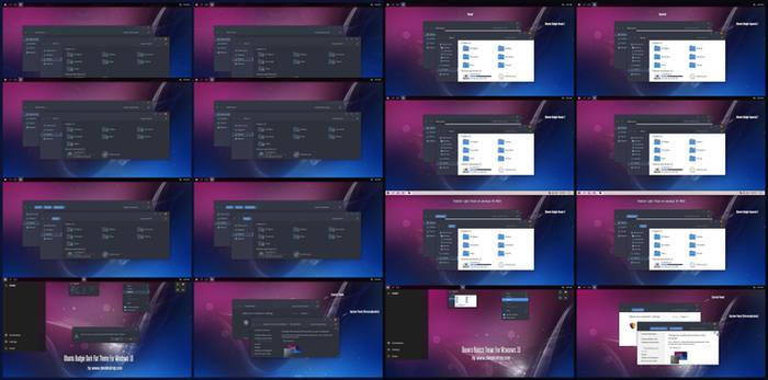 Ubuntu Budgie Dark And Light Theme Win10 21H1