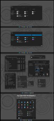 Full Dark Theme For Windows 11