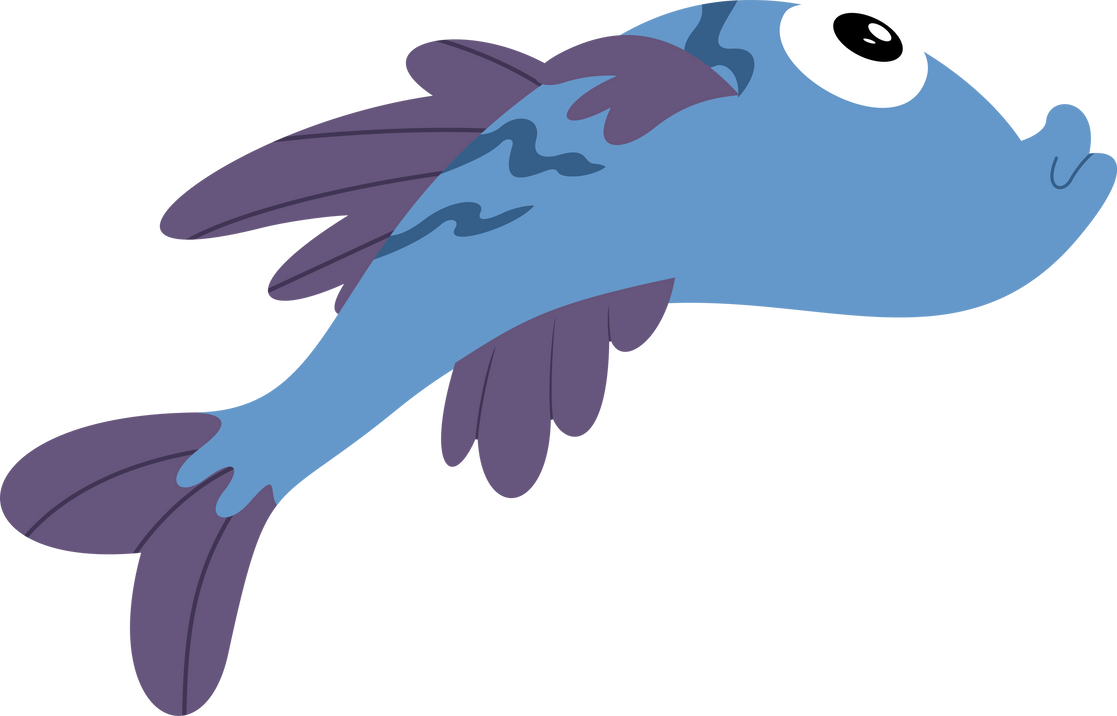 50 renders alimentation my little pony Fish_by_vladimirmacholzraum-d5nyzf2