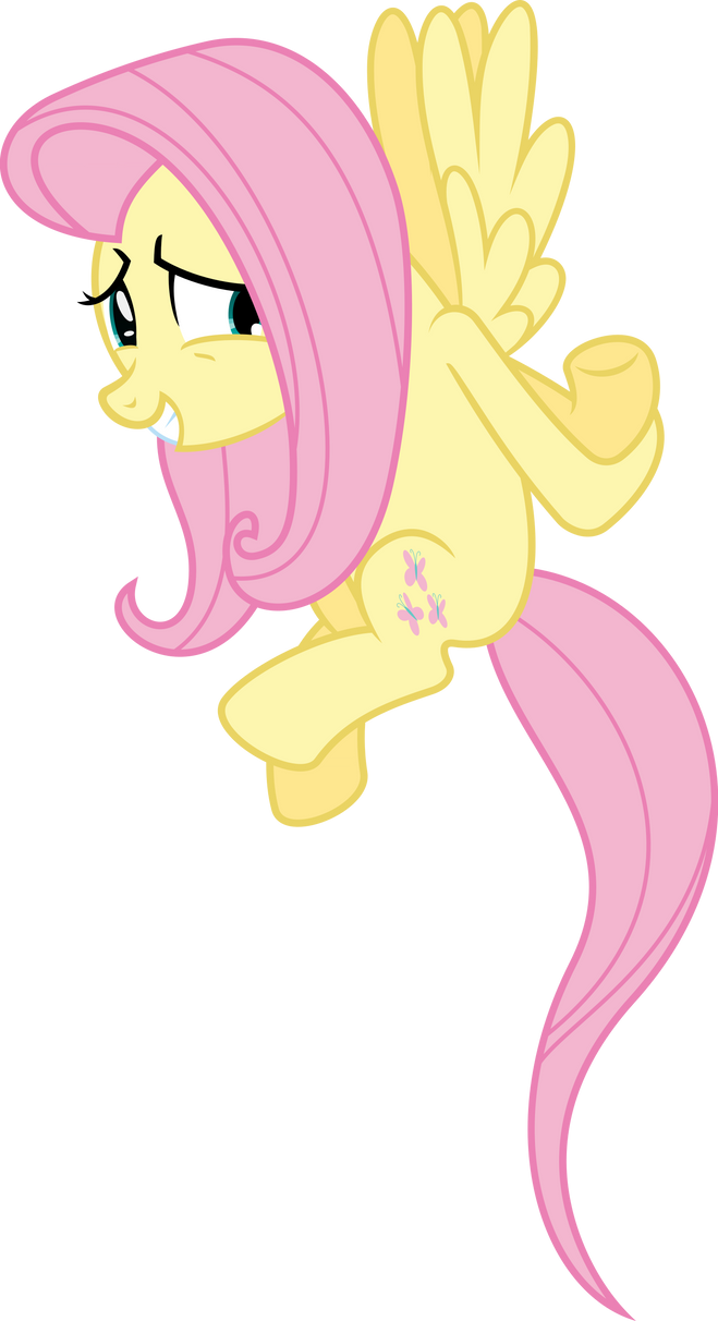 Fluttershy Remembers that She Can Fly by VladimirMacHolzraum