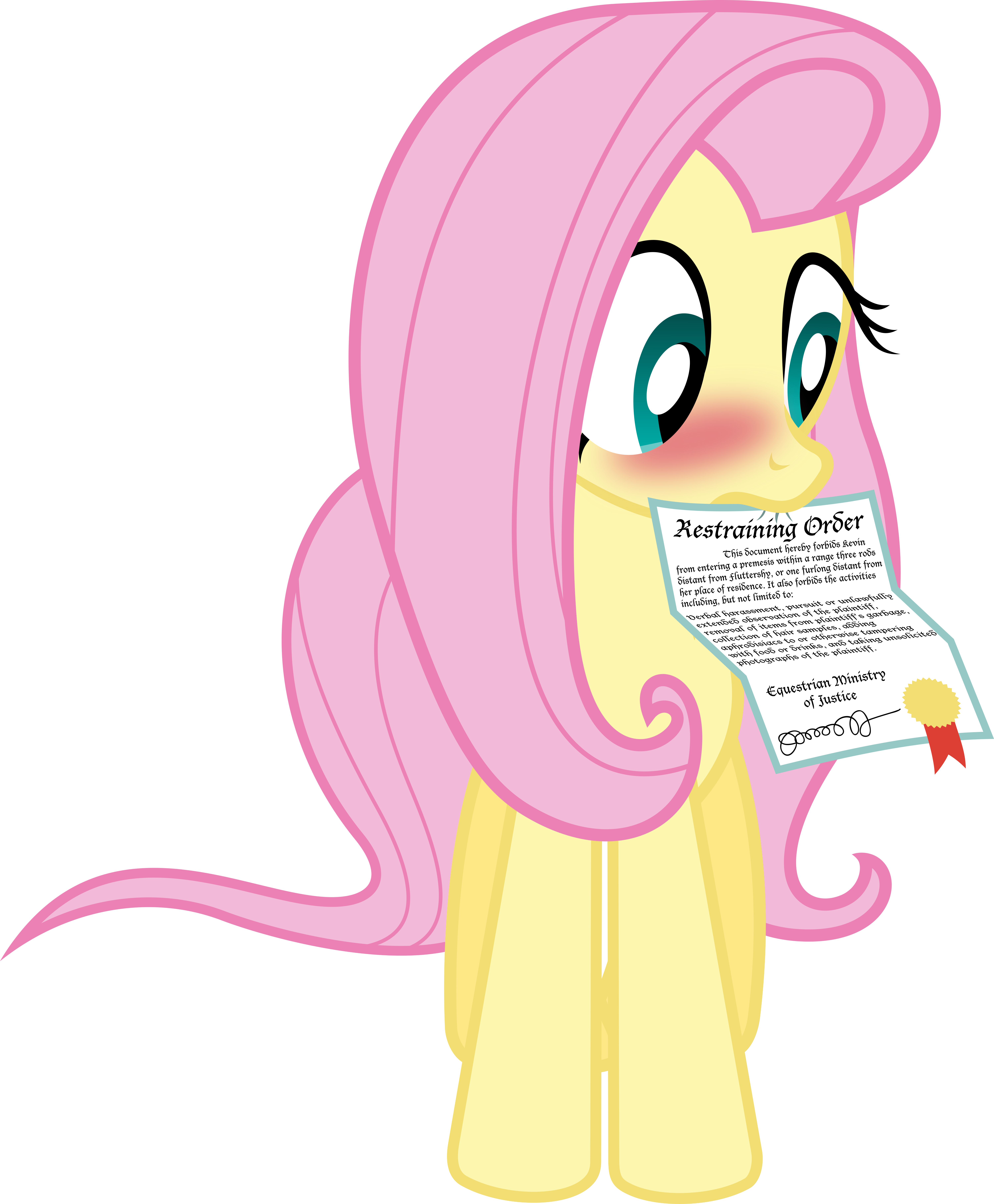 Fluttershy Has a Valentine for Me by VladimirMacHolzraum