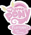 Flutterbat Best Pony Logo