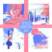PSD #11 - Blurred Lines by HimaYoru