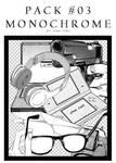 [Pack] Monochrome #03 by HimaYoru