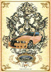 Ford Mustang Poster - Victoria
