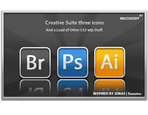 Creative Suite 3 by Jamesbinorbit