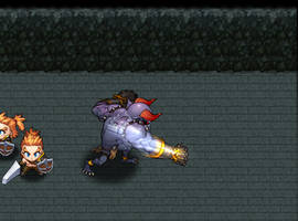 Boss Attack by windship