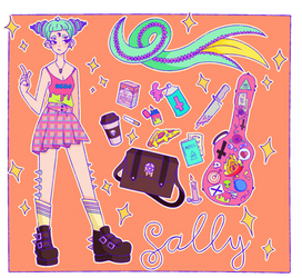 [CS S-O] Sally ref sheet