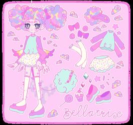 [CS Nunuke-Oris] Ref sheet - Bellatrix