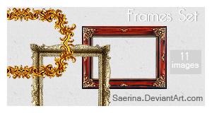 Frames Pack by Saerina
