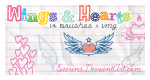Wings and Hearts + Img