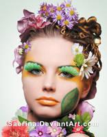 Retouch Spring Girl