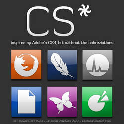 CS+ Icon Set by brsev