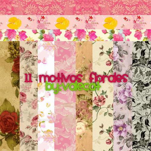 Motivos Florales by ValeCat