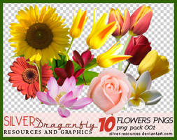 10 Flowers png's