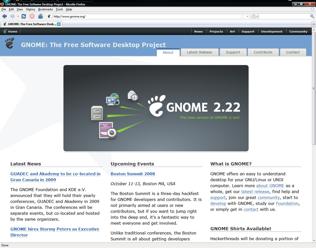 Gnome for Firefox by anonymous-bot
