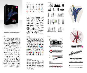 FREE Tech Vector Pack by MrSuma