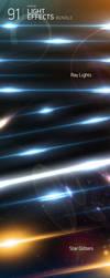 FREE 91 Light Effects PSD by MrSuma