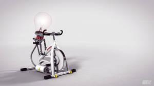 Self-powering Lightbulb