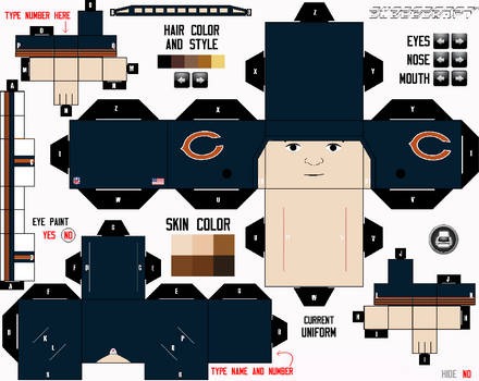 Chicago Bears Cubee Maker