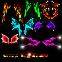 Belladona-Fairy Demonic Wings by Belladona-Stock
