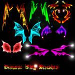 Belladona-Fairy Demonic Wings