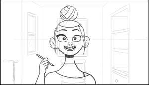 Eyeliner loop animatic