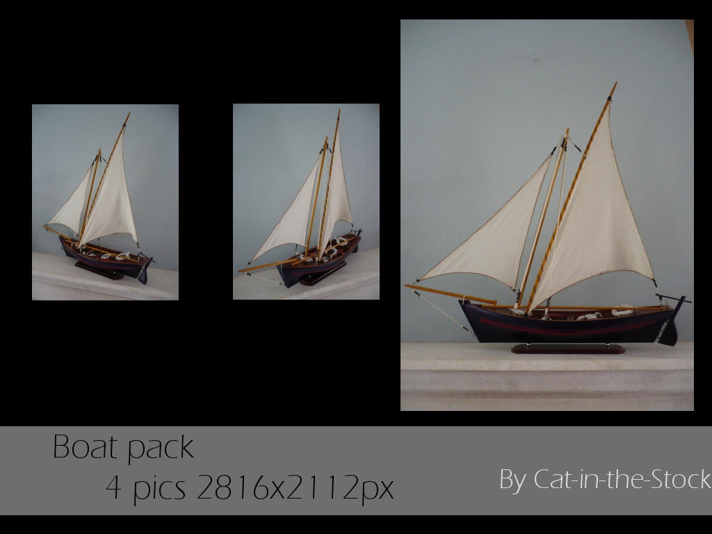 Boat pack by Cat-in-the-Stock