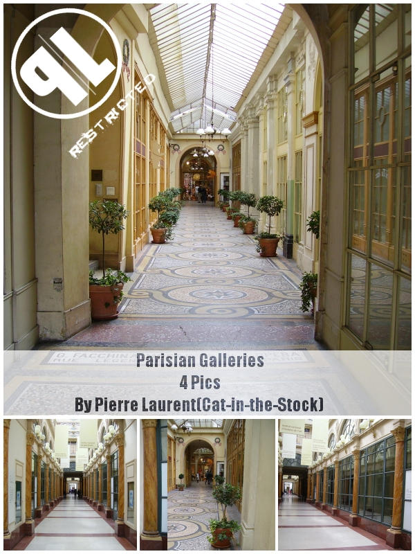 Parisian Galleries-Restricted by Cat-in-the-Stock
