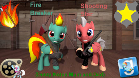 Fire Braker and Shooting Star (DL)