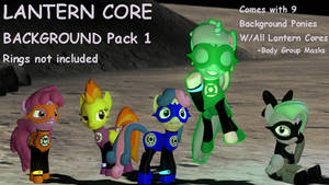 (DL) Lantern Ponies Background pack 1