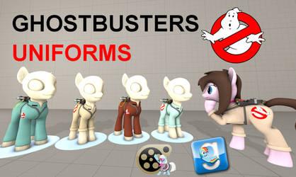 (DL) Ghostbusters Uniforms