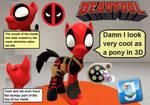 (DL) Deadpool Pony