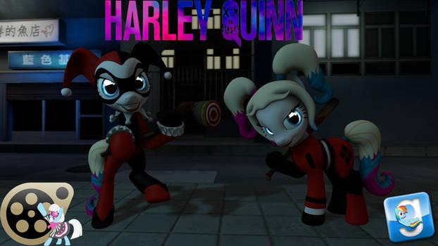 (DL) Harley Quinn Pony