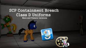 (DL) SCP Containment Breach Class D Uniforms