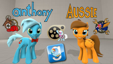 (DL) Anthony and Aussie