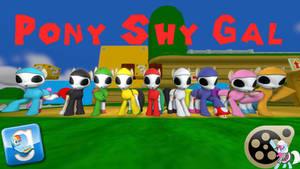 (DL) Pony Shy Gal